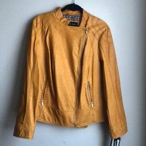 Faux Leather Jacket | Black Rivet